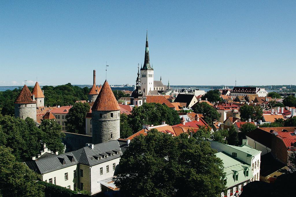 Travel, Tallinn downtown, The Old Town of Tallinn, Estonia