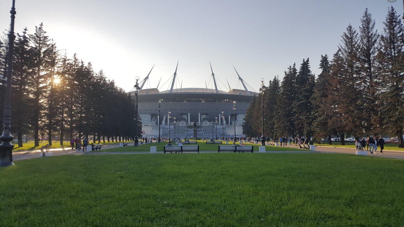 Saint Petersburg stadium (Zenit Arena)
