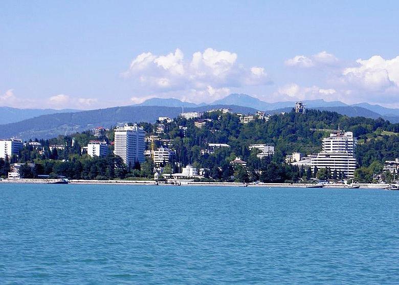 Black Sea coast, Sochi, Russia
