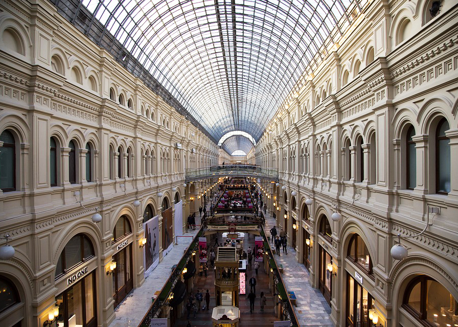 GUM shopping center in Moscow, Russia
