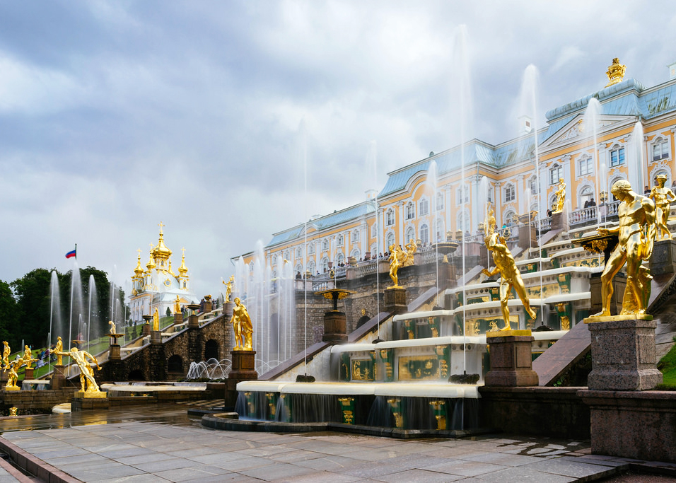 Peterhof Palace in Russia