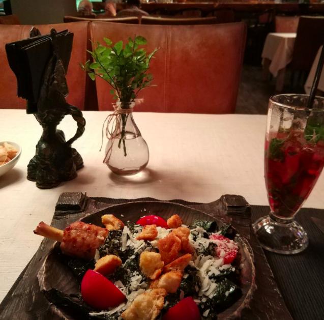 Rukav restaurant in Moscow