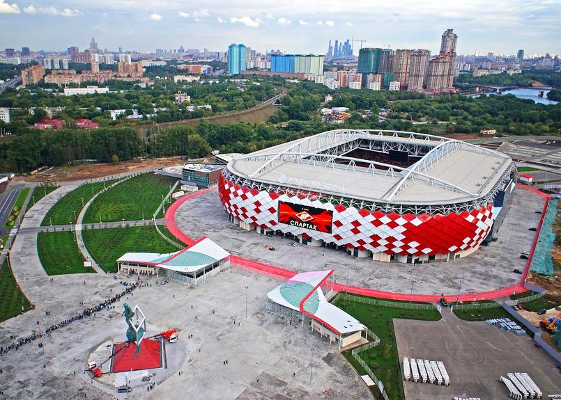 Spartak stadium, Moscow, Russia