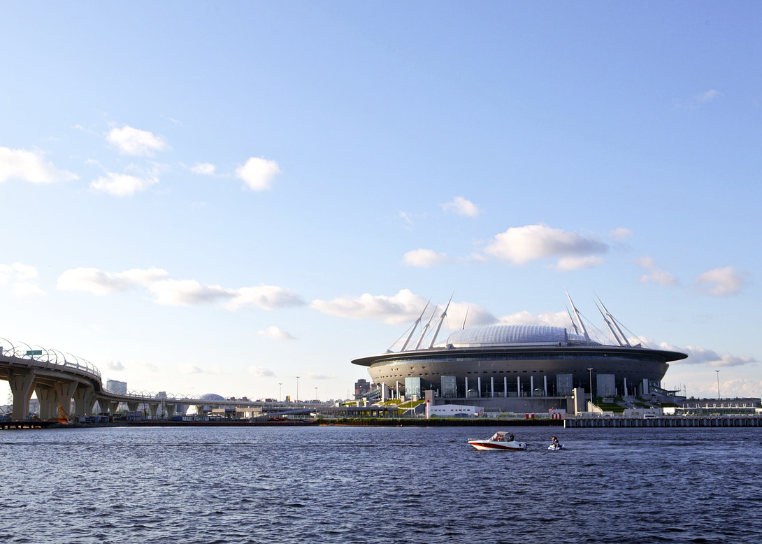 Zenit Arena Stadium in Saint Petersburg