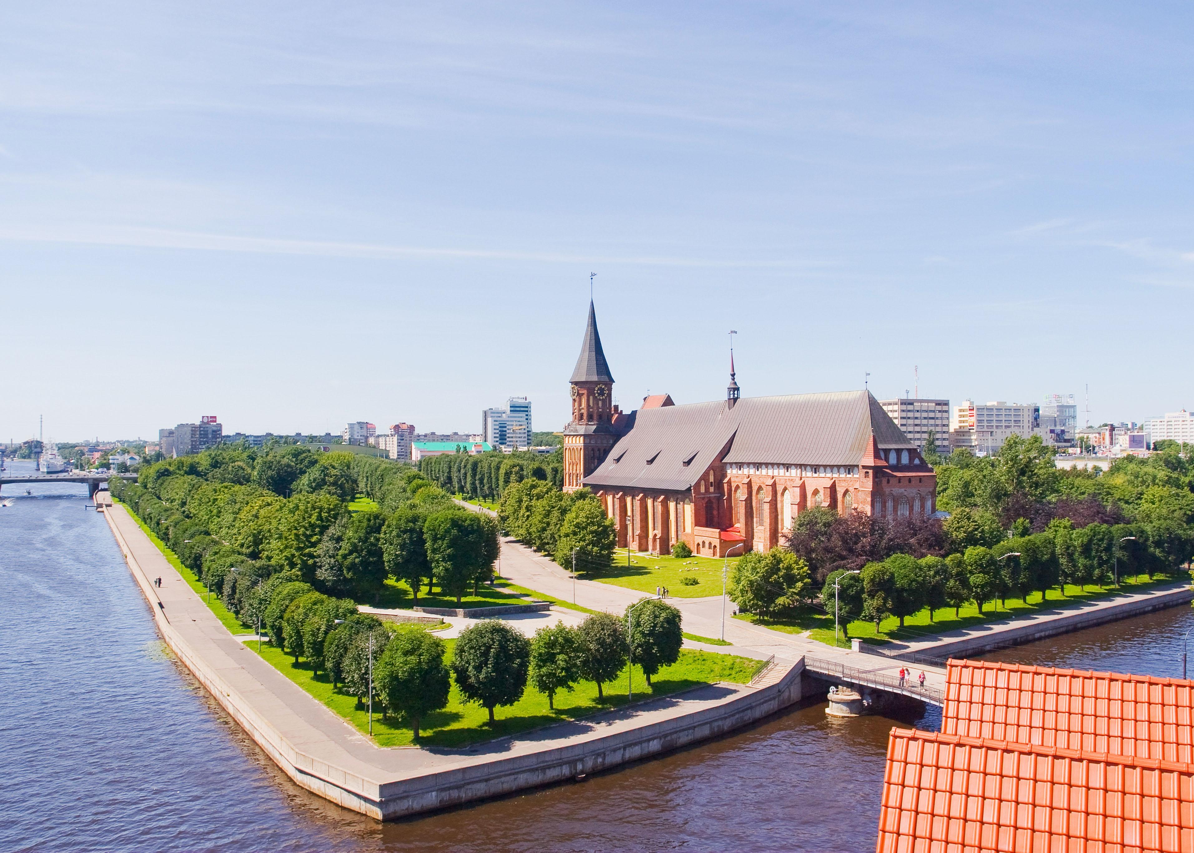 Königsberg Cathedral in Kaliningrad, Russia