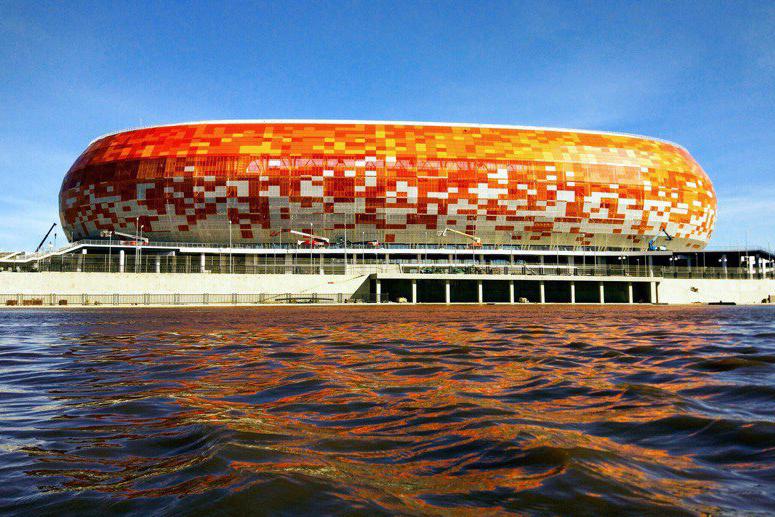 Mordovia arena in Saransk