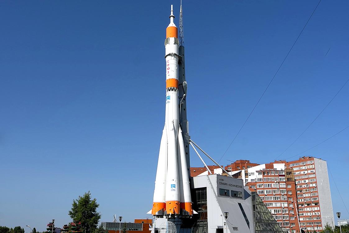 Samara Space Museum, spaceship, russia