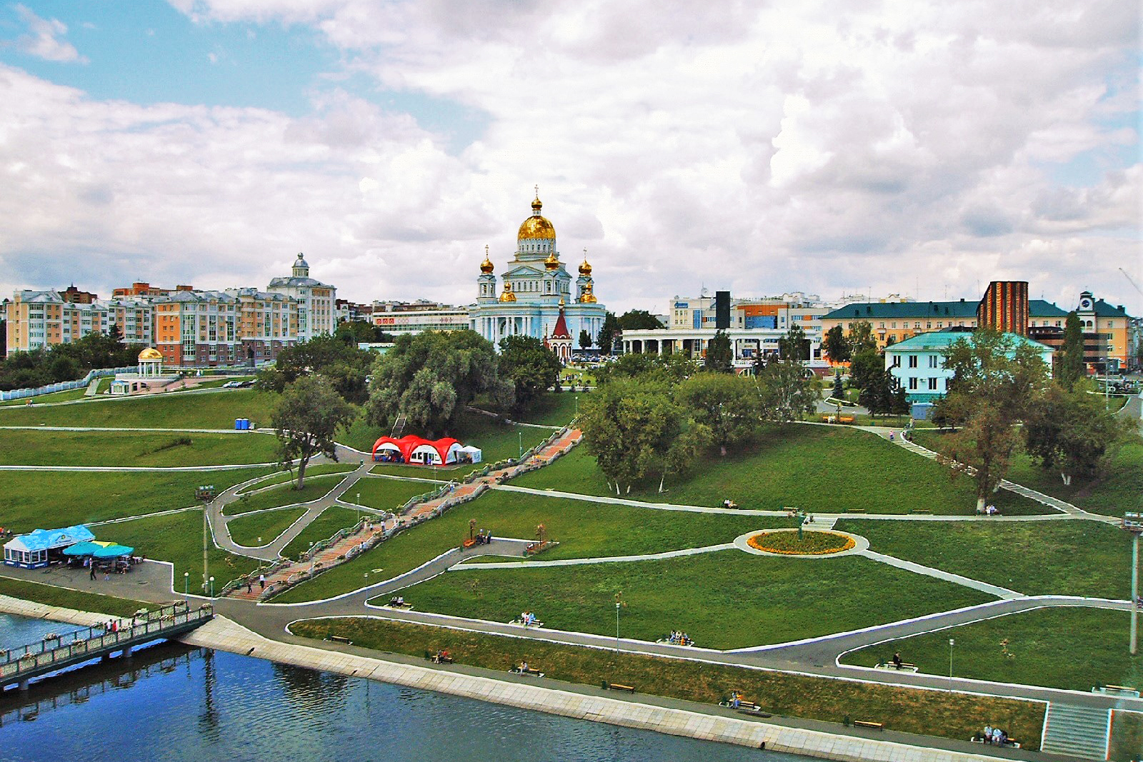 Saransk from Ferris wheel