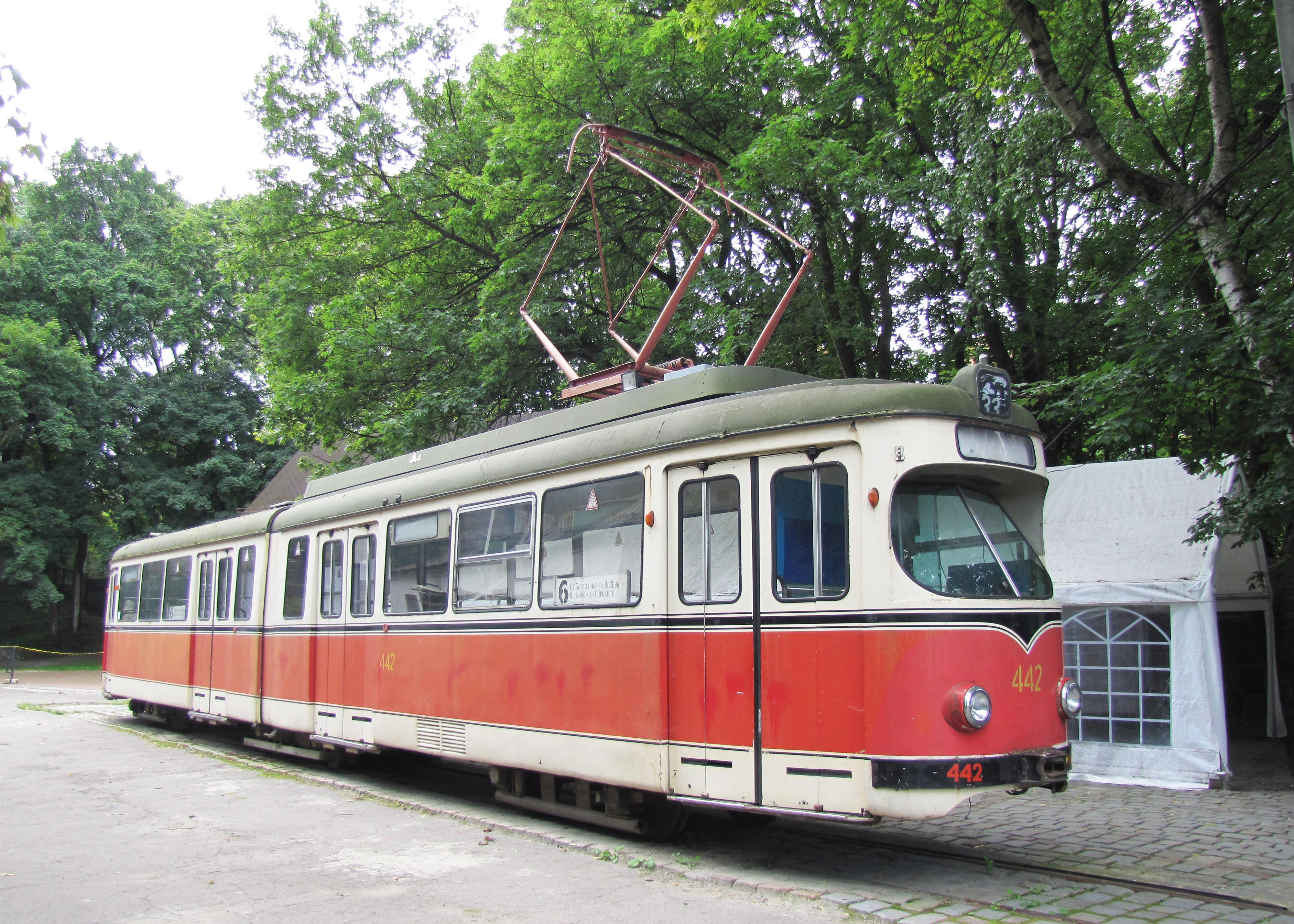 Tram in Kaliningrad, Russia