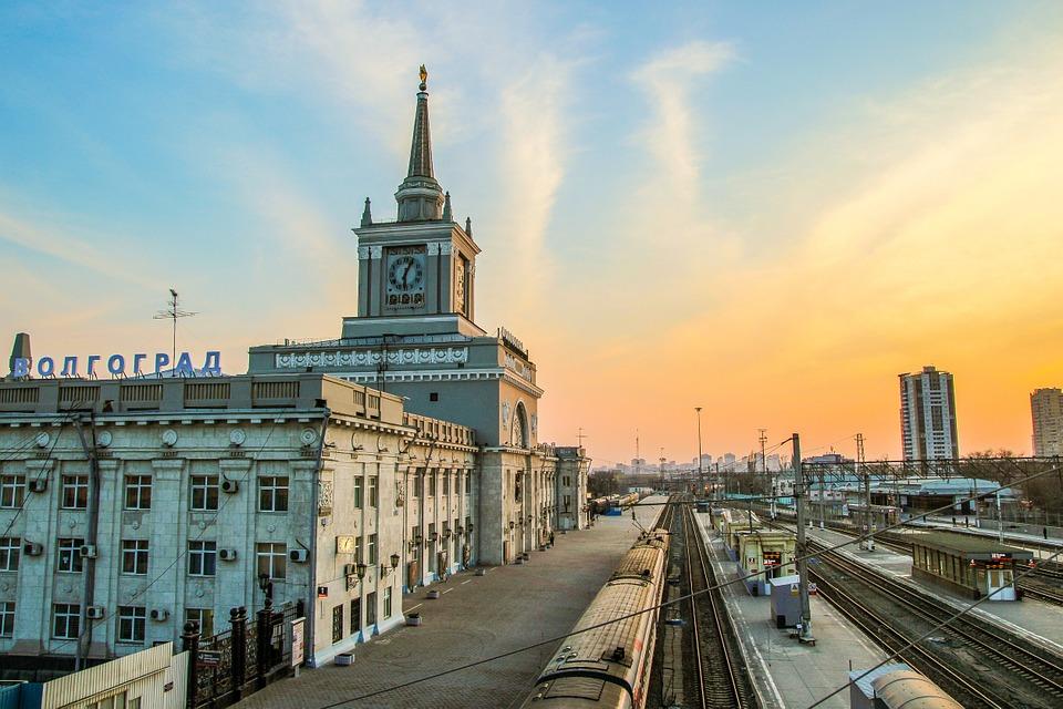 Volgograd-Glavny train station